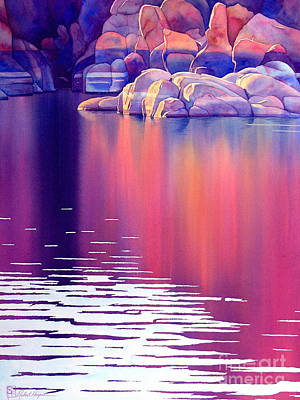 Watson Lake Painting - Early Light by Robert Hooper