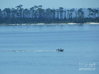 Early Moring Boaters Art Print