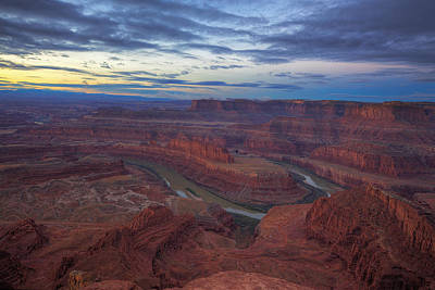 Photograph - Early Morning At Dead Horse Point by Alan Vance Ley
