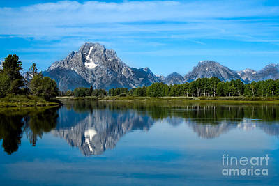 Photograph - Early Morning At Oxbow Bend by Robert Bales