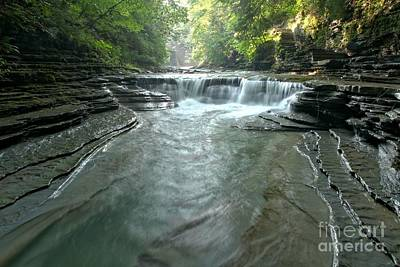 Photograph - Early Morning At Stony Brook Gorge by Adam Jewell