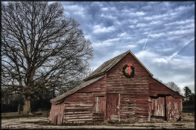 Photograph - Early Morning Barn by Erika Fawcett