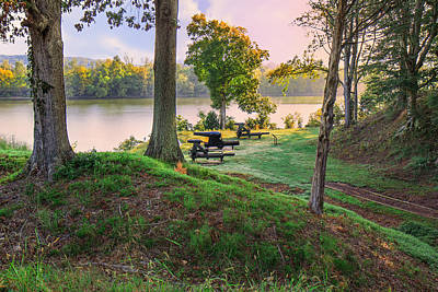 Photograph - Early Morning Cannons by Mary Almond