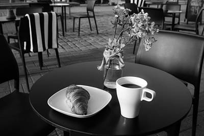 Photograph - Early Morning Coffee  by Ari Salmela