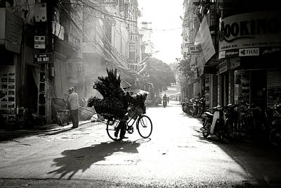 Bikes Photograph - Early Morning by Diana Popescu