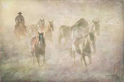 Early Morning Drive Art Print by Ramona Murdock