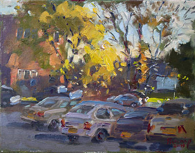 Apartment Painting - Early Morning Fall by Ylli Haruni