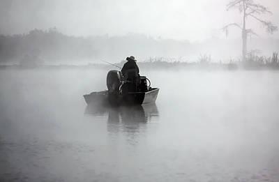 Early Morning Fishing Art Print