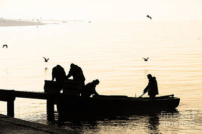 Photograph - Early Morning Fishing Trip by Trevor Chriss