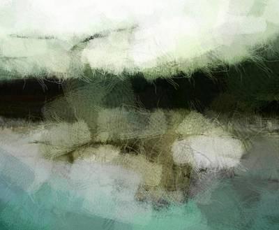 Flying Seagull Digital Art - Early Morning Flight by Gun Legler