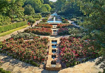 Early Morning Fort Worth Botanic Gardens Art Print