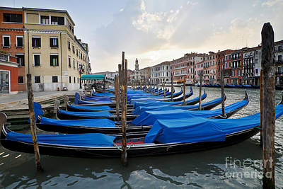 Photograph - Early Morning Gondolas by Dennis Hedberg