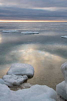 Photograph - Early Morning Ice by Theo O Connor