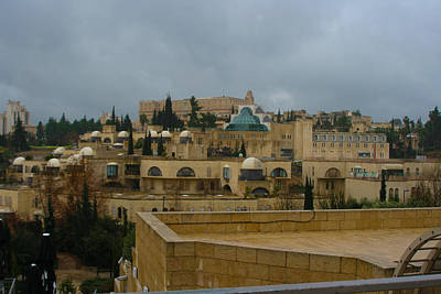 Photograph - Downtown Jerusalem by Doc Braham