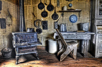 Photograph - Early Morning In The Kitchen by Ken Smith