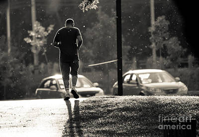 Photograph - Early Morning Jog by Cheryl Baxter