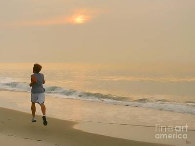 Photograph - Early Morning Jog by Jeff Breiman