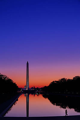 Photograph - Early Morning Jog by Metro DC Photography