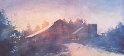 Early Morning Art Print by John  Svenson