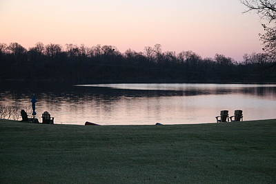 Photograph - Early Morning Lake Front by Amelia Painter