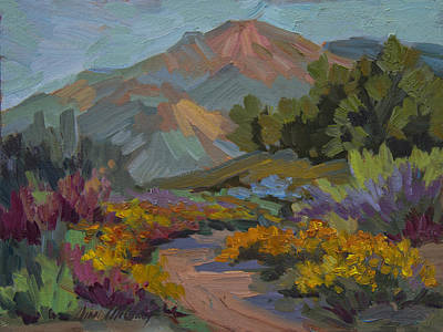 Painting - Early Morning Light Santa Barbara by Diane McClary