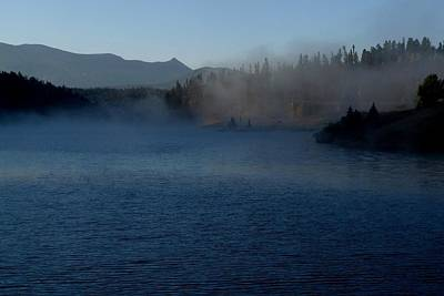 Photograph - Early Morning Mist On A Lake by Marilyn Burton