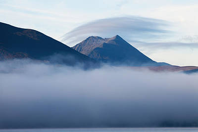 Modern Kitchen - Early Morning Mist Over Lough by Peter Zoeller
