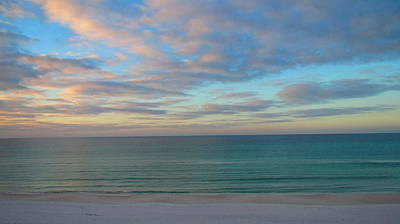 Photograph - Early Morning On The Gulf by Denise   Hoff