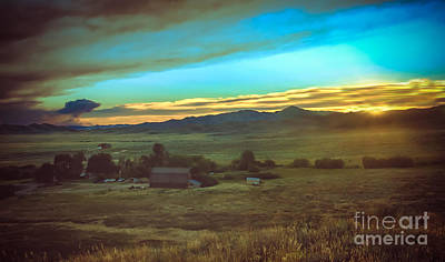 Photograph - Early Morning On The Ranch by Robert Bales
