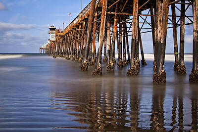 Photograph - Early Morning Pier by Julianne Bradford