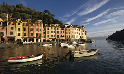 Limited Edition Photograph - Early Morning Portofino by Cathy Laurenzi