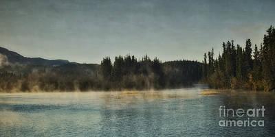 Yukon River Photograph - Early Morning by Priska Wettstein