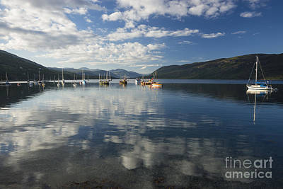 Photograph - Early Morning Reflections On Loch Broom by Howard Kennedy