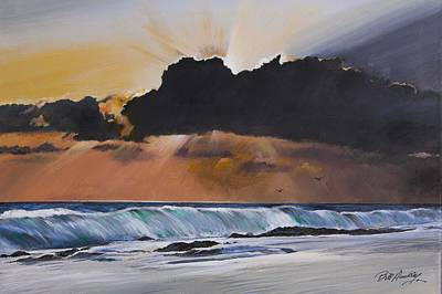 Early Morning Sunrise Original by Bill Dunkley