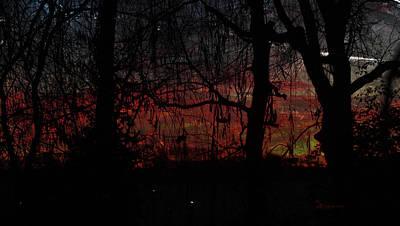 Morning Star Mixed Media - Early Morning Sunrise by EricaMaxine  Price