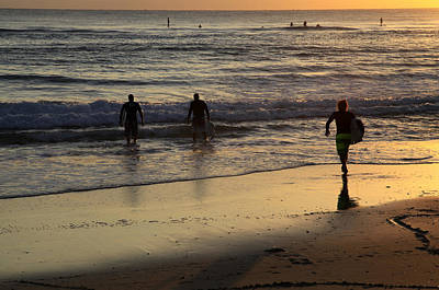 Photograph - Early Morning Surf by Noel Elliot