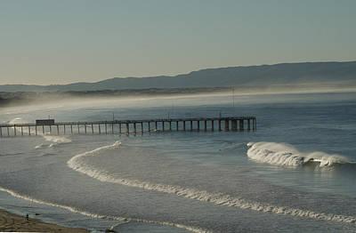 Early Morning Surf Pismo Beach Art Print