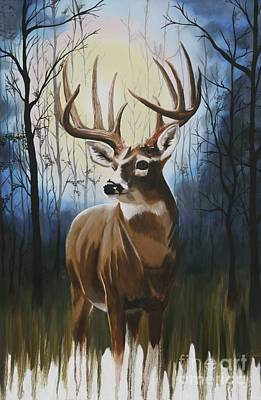 Painting - Early Morning Surprise by Terry  Hester