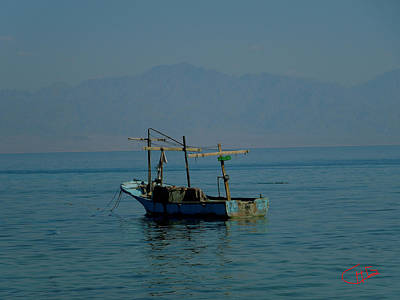 Saudia Photograph - Early Morning Swim Taraben Beach Sinai Egypt by Colette V Hera  Guggenheim