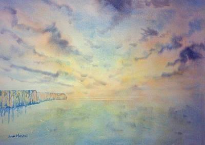 Painting - Early Morning Towards Flamborough Head by Glenn Marshall
