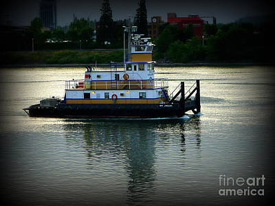 Photograph - Early Morning Tugboat by Susan Garren