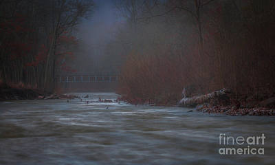 Photograph - Early Morning Winter by Larry McMahon