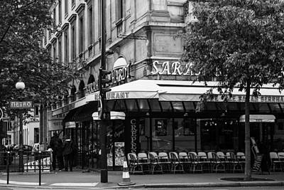Pause Photograph - Early One Paris Morning by Georgia Fowler
