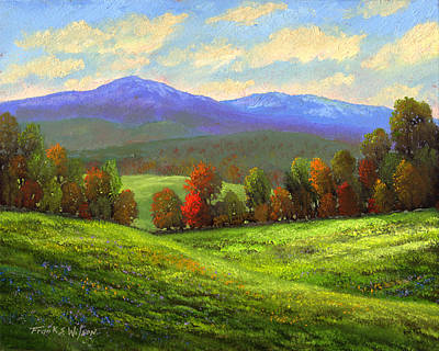 Painting - Early September Green Mountains by Frank Wilson