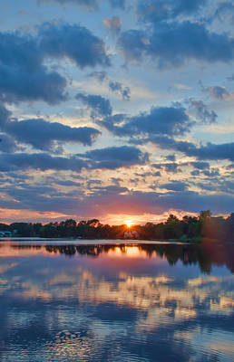 Photograph - Early September Sunset by Beth Sawickie