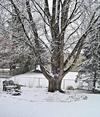 Digital Art - Early Snow by Doug Morgan