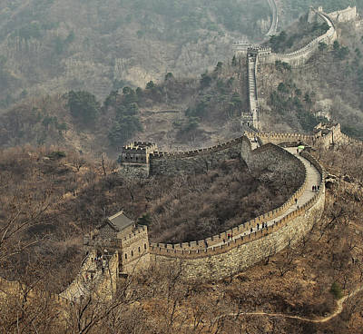 China Wall Art - Photograph - Early Spring In Mutianyu by C.s. Tjandra