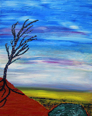 Tree Roots Painting - Early Spring In The Air by Vadim Levin