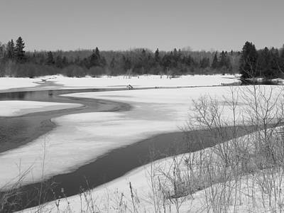 Photograph - Early Spring Northern Maine 1 by Gene Cyr