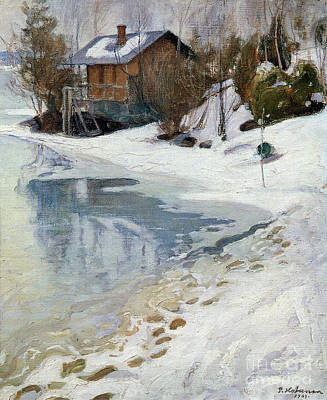 Pekka Wall Art - Painting - Early Spring by Celestial Images